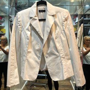 Cream colored cotton blazer Size Small